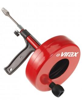 VIRAX 2906: Čistilec cevi z bobnom